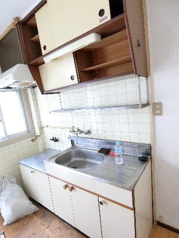 コーポ福開 101号室のキッチン