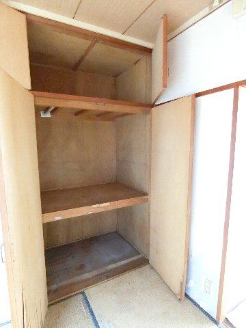 コーポ福開 101号室の収納