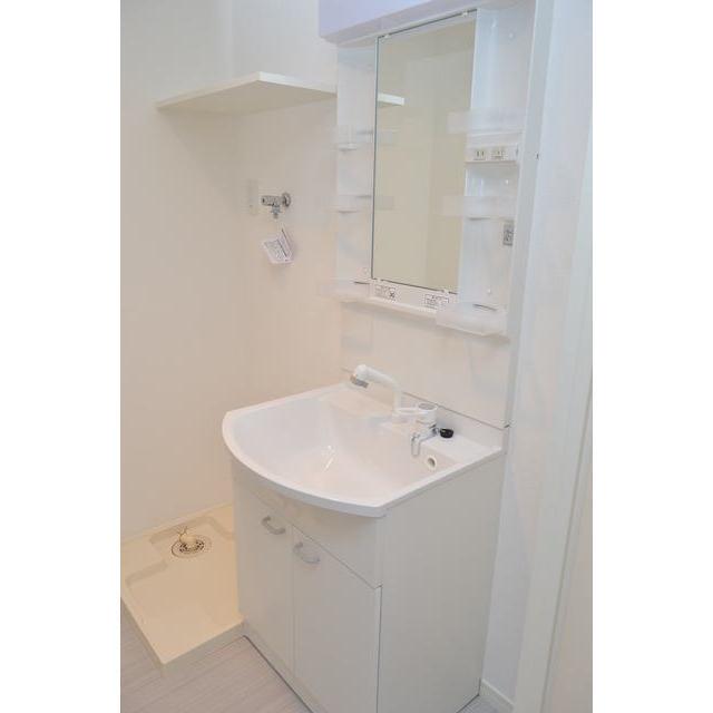 ウェルストン堅粕 201号室の洗面所