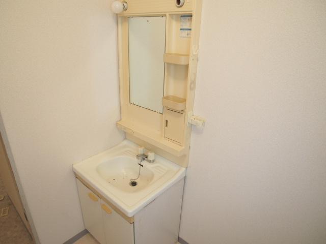 ヒルブライト 102号室の洗面所