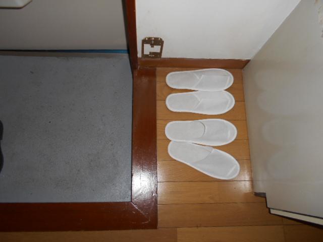 柳沼ハイツ 5号室のエントランス