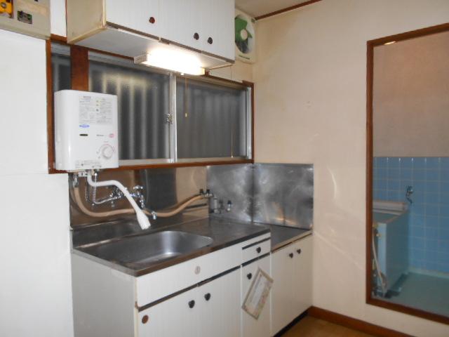 柳沼ハイツ 5号室のキッチン