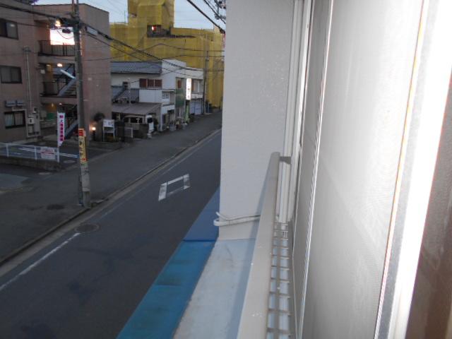 柳沼ハイツ 5号室のバルコニー
