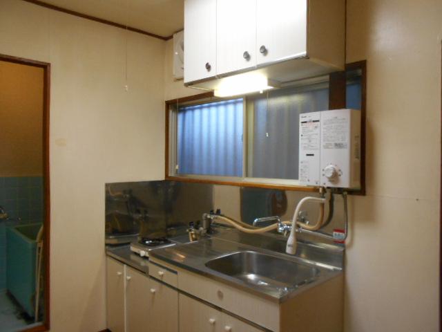 柳沼ハイツ 7号室のキッチン