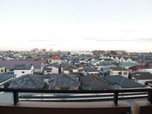 ペアシティ久喜参番館 411号室の景色