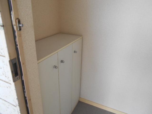 キャピタルツイン1 201号室の玄関