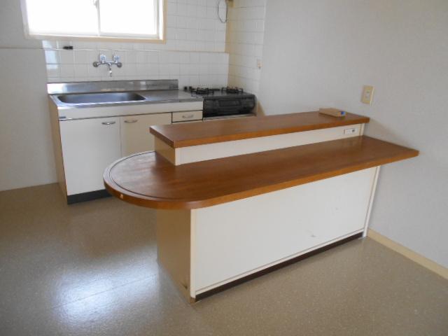キャピタルツイン1 201号室のキッチン