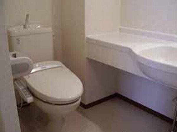 ボナールの杜 102号室のトイレ