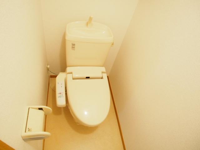 Demeureのトイレ