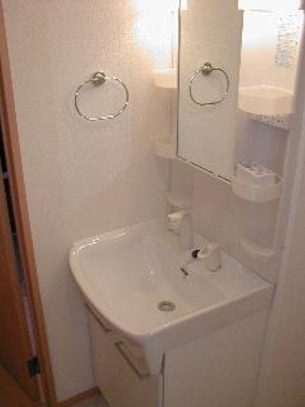 アムールレジデンスA 202号室の洗面所