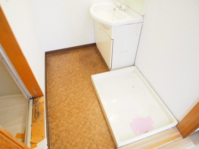 パールシティハイム 201号室の洗面所