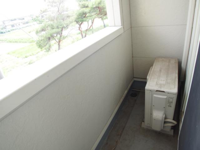 スターテラスA 203号室のバルコニー