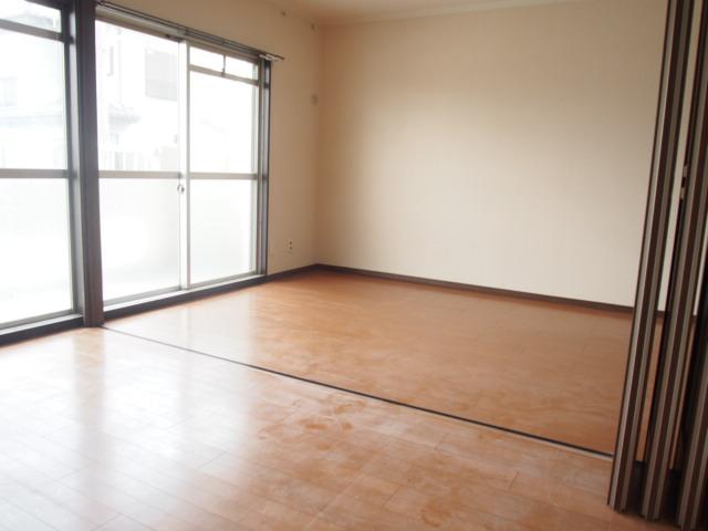 ヒルズマンション 202号室のリビング
