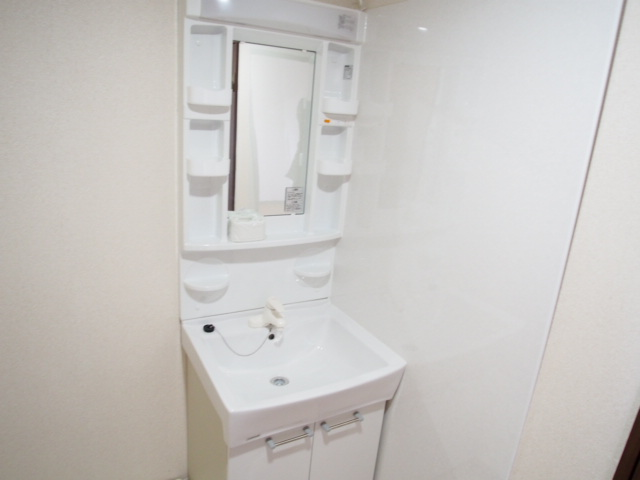ヒルズマンション 202号室の洗面所
