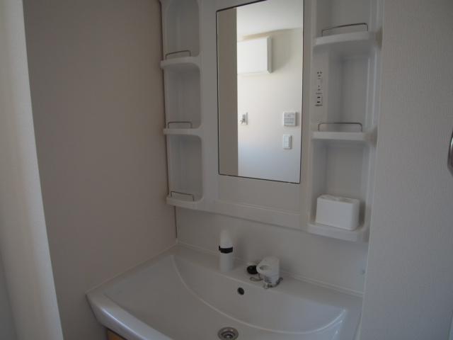 ブリーズ 102号室の洗面所
