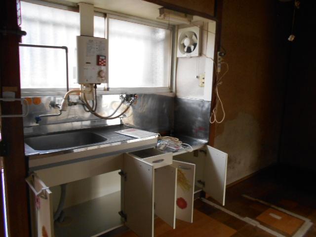 貸家Bのキッチン