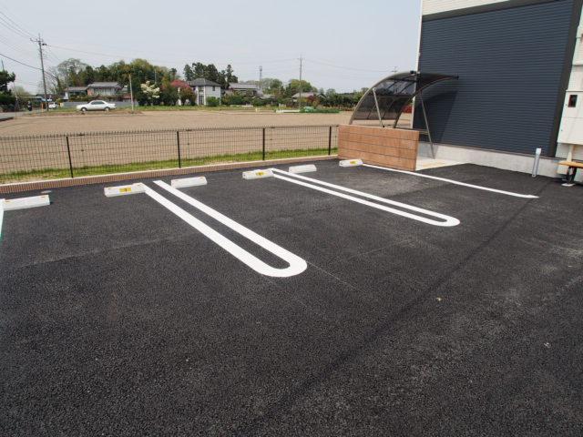 AjaxⅣの駐車場
