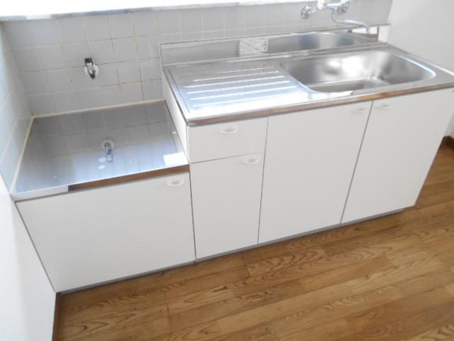 新井コーポ 103号室のキッチン