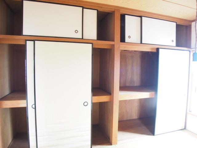 菅原ハイツ 2号室の収納