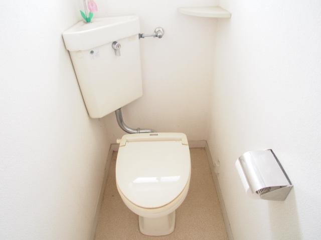 菅原ハイツ 2号室のトイレ