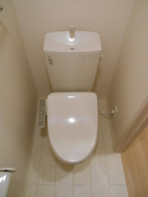 シーティオⅡ 102号室のトイレ