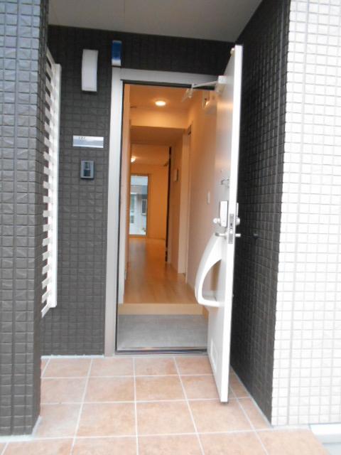 シーティオⅡ 102号室の玄関