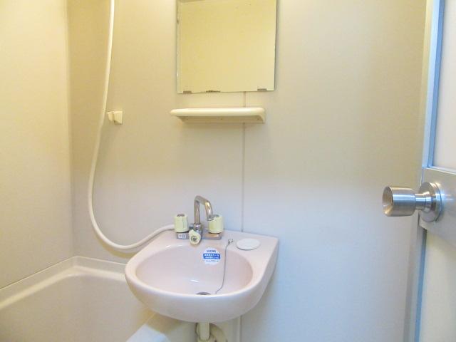 オズハウス1 118号室の洗面所