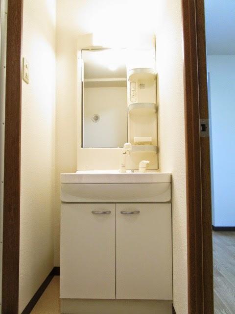 エチュード 103号室の洗面所