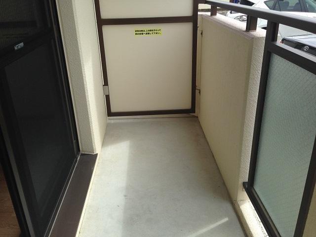 エチュード 207号室のバルコニー