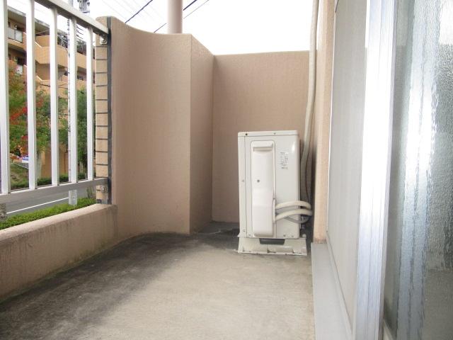 ブルースカイ 105号室のバルコニー