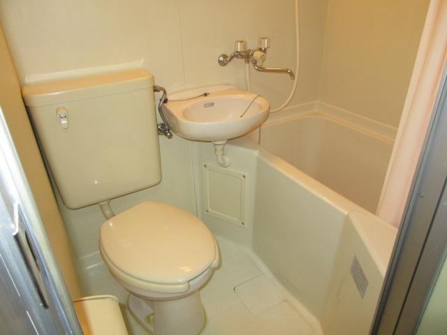 ブルースカイ 105号室の風呂