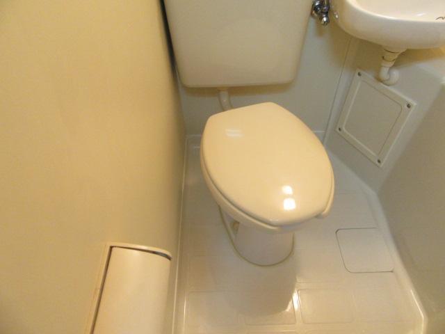 ブルースカイ 105号室のトイレ