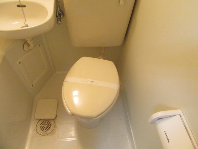 ドリームライフさつき 102号室のトイレ