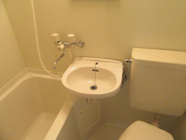 ドリームライフさつき 102号室の洗面所