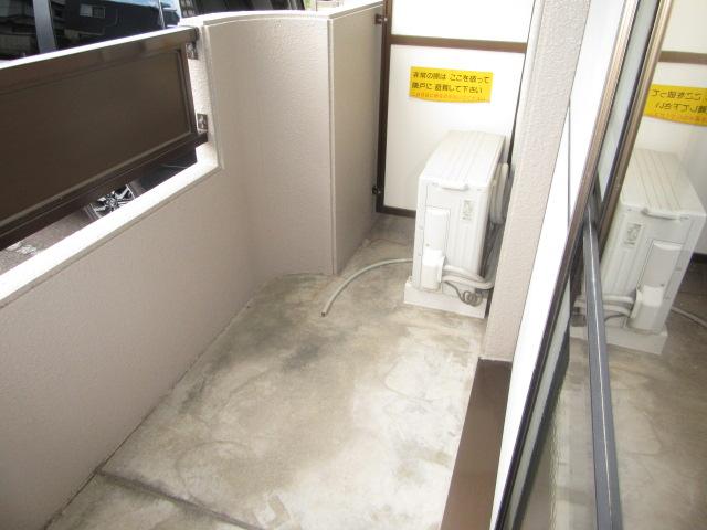 マンションアトランティスⅡ 203号室のバルコニー