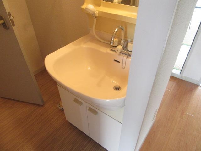 ルミエール宮の西 202号室の洗面所
