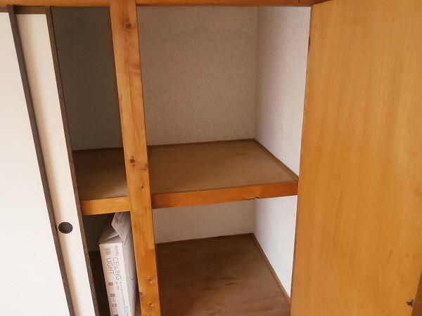 八幡荘 7号室の収納
