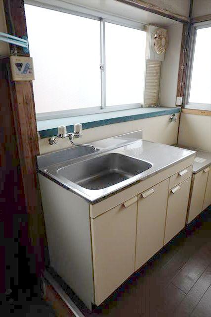 ヤマジ貸家37号棟のキッチン