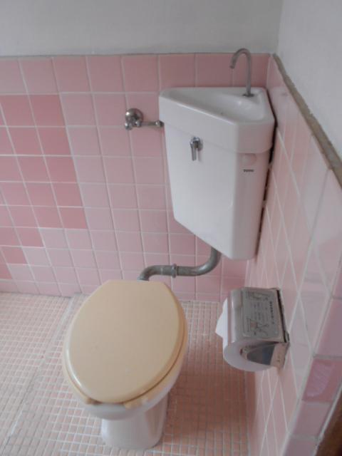三剛荘 2-1号室のトイレ