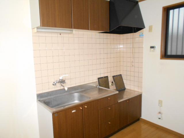 コロラトゥーラB 101号室のキッチン