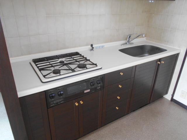 コスモ春日部豊春セカンドステージ 401号室のキッチン