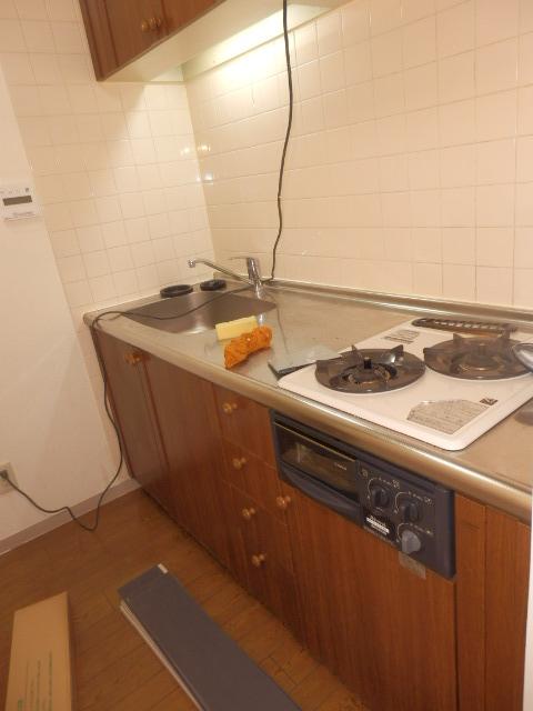 ヴィラフィオーレ 202号室のキッチン