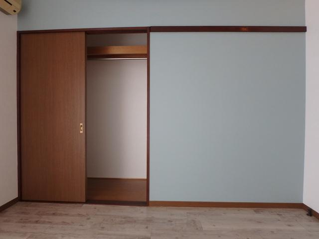 第一MHハウスA棟 208号室の収納