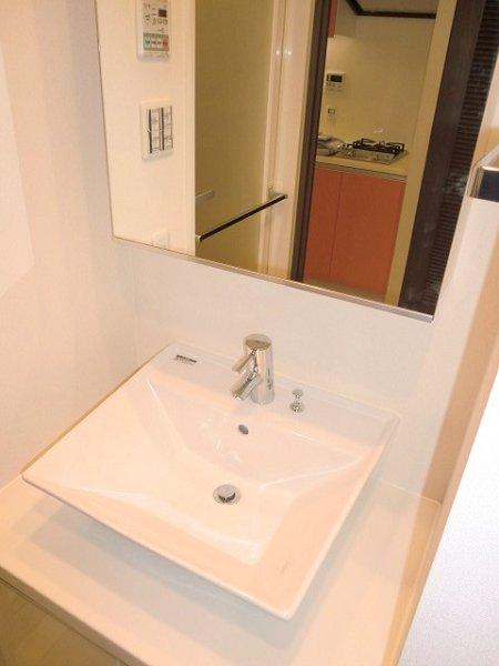 フェニシア学芸大学 604号室の洗面所
