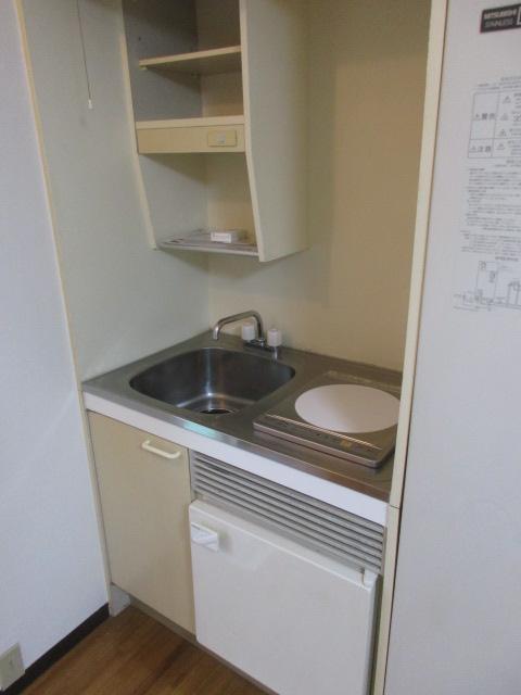 フラッツ上馬 202号室のキッチン