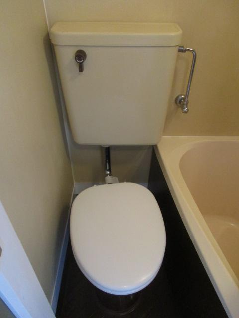 フラッツ上馬 202号室のトイレ