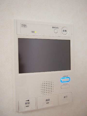 ルーブル目黒不動前 404号室のセキュリティ