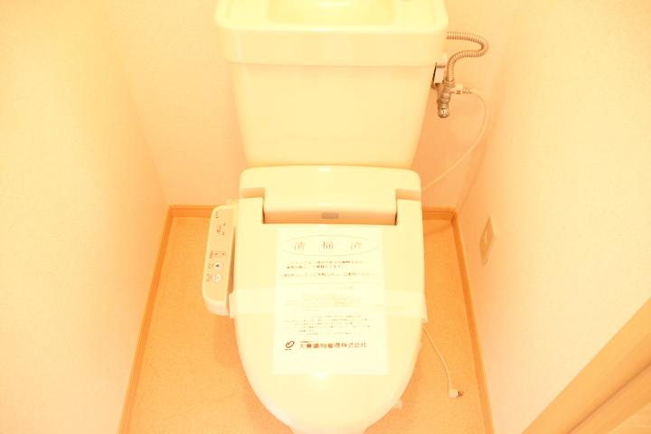 シティハイツ田所 01020号室のトイレ