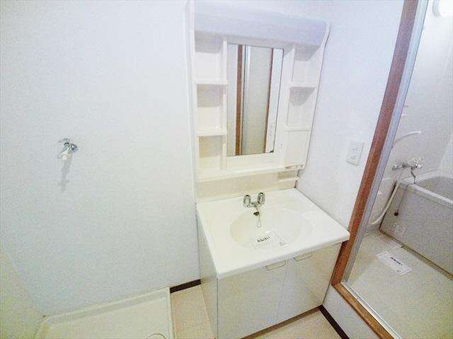 ニューシティ山本 02010号室の洗面所
