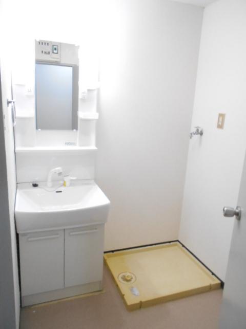 エレガンスパーク立沼橋 01010号室の洗面所